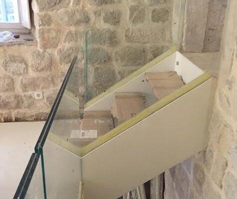 parapetti scale vetro