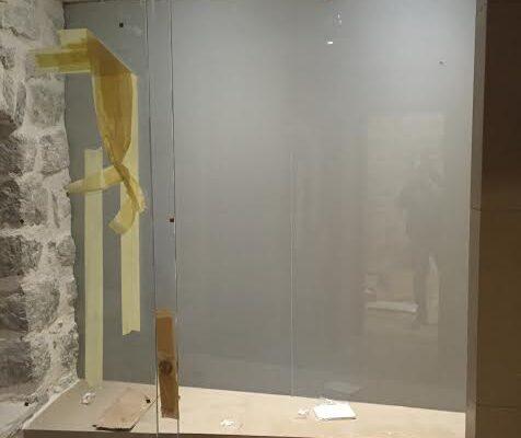 realizzazione parapetti in vetro
