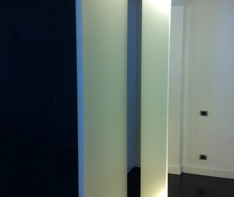 rivestimenti luminosi in vetro